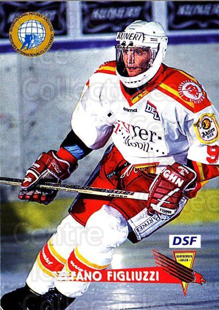 1996-97 German DEL #120 Stefano Figliuzzi<br/>5 In Stock - $2.00 each - <a href=https://centericecollectibles.foxycart.com/cart?name=1996-97%20German%20DEL%20%23120%20Stefano%20Figliuz...&quantity_max=5&price=$2.00&code=48978 class=foxycart> Buy it now! </a>