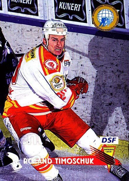 1996-97 German DEL #125 Roland Timoschuk<br/>8 In Stock - $2.00 each - <a href=https://centericecollectibles.foxycart.com/cart?name=1996-97%20German%20DEL%20%23125%20Roland%20Timoschu...&quantity_max=8&price=$2.00&code=48982 class=foxycart> Buy it now! </a>