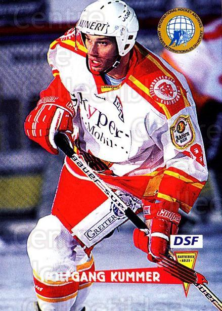 1996-97 German DEL #131 Wolfgang Kummer<br/>7 In Stock - $2.00 each - <a href=https://centericecollectibles.foxycart.com/cart?name=1996-97%20German%20DEL%20%23131%20Wolfgang%20Kummer...&quantity_max=7&price=$2.00&code=48988 class=foxycart> Buy it now! </a>
