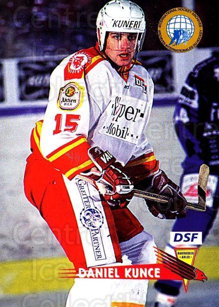 196 Daniel Kunce Nürnberg Ice Tigers DEL 2000-01
