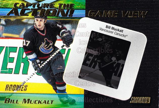 1999-00 Stadium Club Capture the Action Game View #1 Bill Muckalt<br/>1 In Stock - $10.00 each - <a href=https://centericecollectibles.foxycart.com/cart?name=1999-00%20Stadium%20Club%20Capture%20the%20Action%20Game%20View%20%231%20Bill%20Muckalt...&quantity_max=1&price=$10.00&code=490372 class=foxycart> Buy it now! </a>