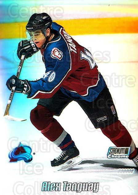1999-00 Stadium Club Chrome Refractors #46 Alex Tanguay<br/>4 In Stock - $5.00 each - <a href=https://centericecollectibles.foxycart.com/cart?name=1999-00%20Stadium%20Club%20Chrome%20Refractors%20%2346%20Alex%20Tanguay...&quantity_max=4&price=$5.00&code=490465 class=foxycart> Buy it now! </a>