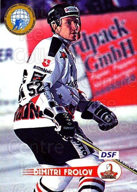 1996-97 German DEL #210 Dmitri Frolov<br/>6 In Stock - $2.00 each - <a href=https://centericecollectibles.foxycart.com/cart?name=1996-97%20German%20DEL%20%23210%20Dmitri%20Frolov...&price=$2.00&code=49064 class=foxycart> Buy it now! </a>