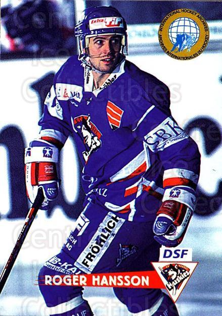 1996-97 German DEL #236 Roger Hansson<br/>5 In Stock - $2.00 each - <a href=https://centericecollectibles.foxycart.com/cart?name=1996-97%20German%20DEL%20%23236%20Roger%20Hansson...&quantity_max=5&price=$2.00&code=49088 class=foxycart> Buy it now! </a>