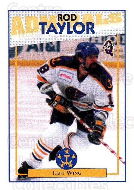 1996-97 Hampton Roads Admirals #10 Rod Taylor<br/>1 In Stock - $3.00 each - <a href=https://centericecollectibles.foxycart.com/cart?name=1996-97%20Hampton%20Roads%20Admirals%20%2310%20Rod%20Taylor...&quantity_max=1&price=$3.00&code=49112 class=foxycart> Buy it now! </a>