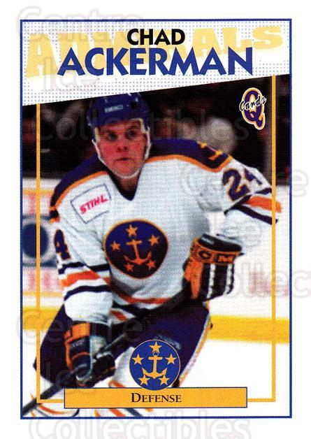 1996-97 Hampton Roads Admirals #14 Chad Ackerman<br/>3 In Stock - $3.00 each - <a href=https://centericecollectibles.foxycart.com/cart?name=1996-97%20Hampton%20Roads%20Admirals%20%2314%20Chad%20Ackerman...&quantity_max=3&price=$3.00&code=49116 class=foxycart> Buy it now! </a>