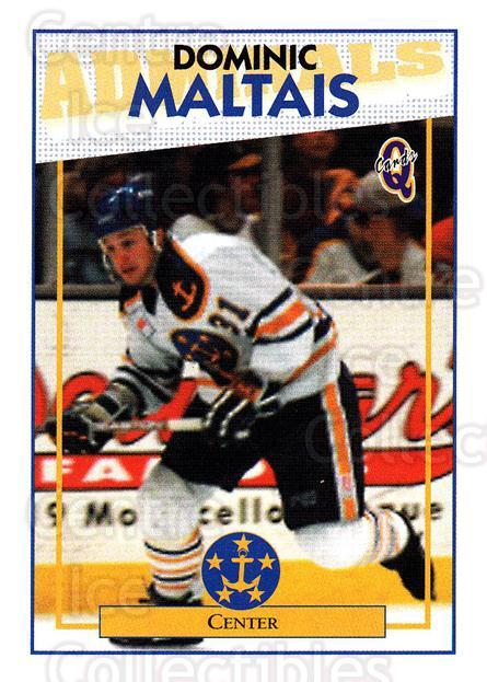 1996-97 Hampton Roads Admirals #17 Dominic Maltais<br/>3 In Stock - $3.00 each - <a href=https://centericecollectibles.foxycart.com/cart?name=1996-97%20Hampton%20Roads%20Admirals%20%2317%20Dominic%20Maltais...&quantity_max=3&price=$3.00&code=49118 class=foxycart> Buy it now! </a>