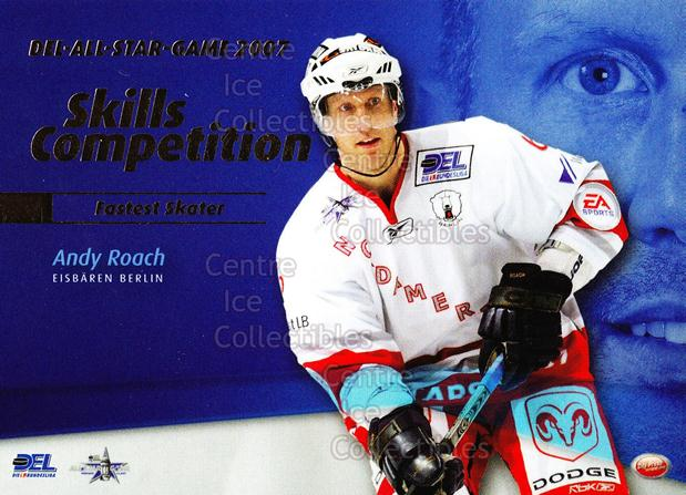 2007-08 German DEL Skills Competition #1 Andy Roach<br/>1 In Stock - $3.00 each - <a href=https://centericecollectibles.foxycart.com/cart?name=2007-08%20German%20DEL%20Skills%20Competition%20%231%20Andy%20Roach...&quantity_max=1&price=$3.00&code=492042 class=foxycart> Buy it now! </a>