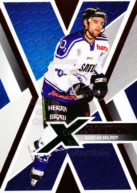 2008-09 German DEL X-Factor #8 Duncan Milroy<br/>2 In Stock - $3.00 each - <a href=https://centericecollectibles.foxycart.com/cart?name=2008-09%20German%20DEL%20X-Factor%20%238%20Duncan%20Milroy...&quantity_max=2&price=$3.00&code=492110 class=foxycart> Buy it now! </a>