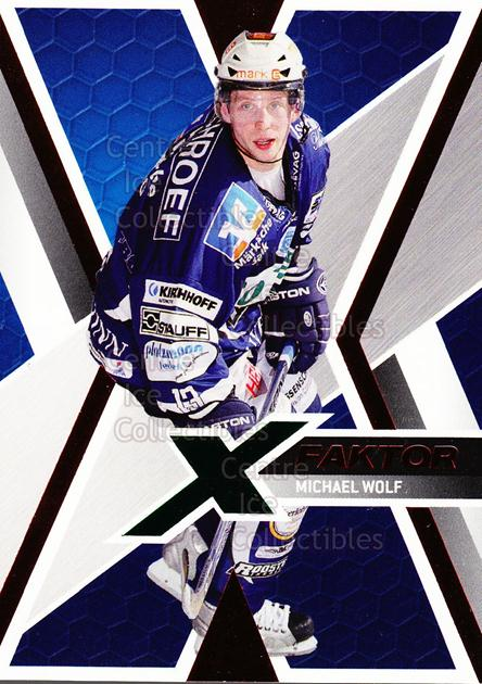2008-09 German DEL X-Factor #9 Michael Wolf<br/>1 In Stock - $3.00 each - <a href=https://centericecollectibles.foxycart.com/cart?name=2008-09%20German%20DEL%20X-Factor%20%239%20Michael%20Wolf...&quantity_max=1&price=$3.00&code=492111 class=foxycart> Buy it now! </a>