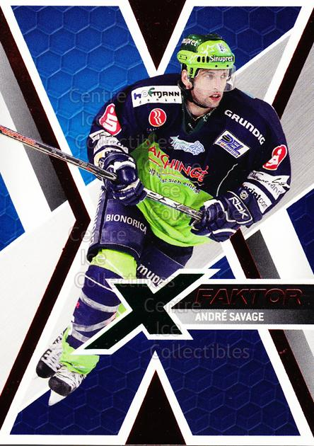 2008-09 German DEL X-Factor #14 Andre Savage<br/>1 In Stock - $3.00 each - <a href=https://centericecollectibles.foxycart.com/cart?name=2008-09%20German%20DEL%20X-Factor%20%2314%20Andre%20Savage...&quantity_max=1&price=$3.00&code=492116 class=foxycart> Buy it now! </a>