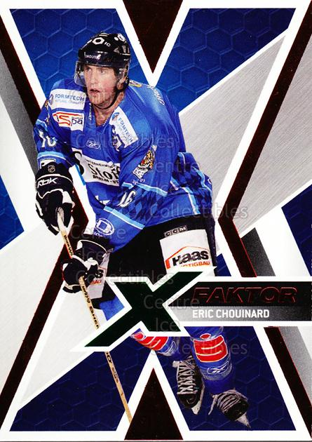 2008-09 German DEL X-Factor #15 Eric Chouinard<br/>1 In Stock - $3.00 each - <a href=https://centericecollectibles.foxycart.com/cart?name=2008-09%20German%20DEL%20X-Factor%20%2315%20Eric%20Chouinard...&quantity_max=1&price=$3.00&code=492117 class=foxycart> Buy it now! </a>