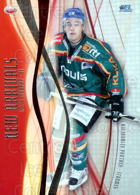 2009-10 German DEL New Arrivals #1 Colin Murphy<br/>2 In Stock - $3.00 each - <a href=https://centericecollectibles.foxycart.com/cart?name=2009-10%20German%20DEL%20New%20Arrivals%20%231%20Colin%20Murphy...&quantity_max=2&price=$3.00&code=492217 class=foxycart> Buy it now! </a>