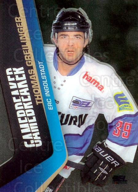 2010-11 German DEL Game Breakers #6 Thomas Greilinger<br/>1 In Stock - $3.00 each - <a href=https://centericecollectibles.foxycart.com/cart?name=2010-11%20German%20DEL%20Game%20Breakers%20%236%20Thomas%20Greiling...&quantity_max=1&price=$3.00&code=492251 class=foxycart> Buy it now! </a>