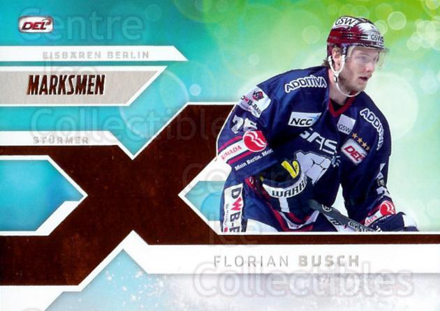 2011-12 German DEL Marksmen #2 Florian Busch<br/>1 In Stock - $3.00 each - <a href=https://centericecollectibles.foxycart.com/cart?name=2011-12%20German%20DEL%20Marksmen%20%232%20Florian%20Busch...&quantity_max=1&price=$3.00&code=492314 class=foxycart> Buy it now! </a>