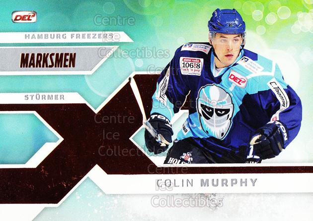 2011-12 German DEL Marksmen #4 Colin Murphy<br/>1 In Stock - $3.00 each - <a href=https://centericecollectibles.foxycart.com/cart?name=2011-12%20German%20DEL%20Marksmen%20%234%20Colin%20Murphy...&quantity_max=1&price=$3.00&code=492316 class=foxycart> Buy it now! </a>