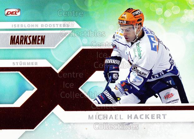 2011-12 German DEL Marksmen #6 Michael Hackert<br/>2 In Stock - $3.00 each - <a href=https://centericecollectibles.foxycart.com/cart?name=2011-12%20German%20DEL%20Marksmen%20%236%20Michael%20Hackert...&quantity_max=2&price=$3.00&code=492318 class=foxycart> Buy it now! </a>
