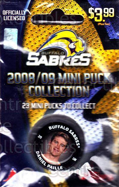 2008-09 Buffalo Sabres Mini Pucks #14 Daniel Paille<br/>1 In Stock - $5.00 each - <a href=https://centericecollectibles.foxycart.com/cart?name=2008-09%20Buffalo%20Sabres%20Mini%20Pucks%20%2314%20Daniel%20Paille...&quantity_max=1&price=$5.00&code=492901 class=foxycart> Buy it now! </a>