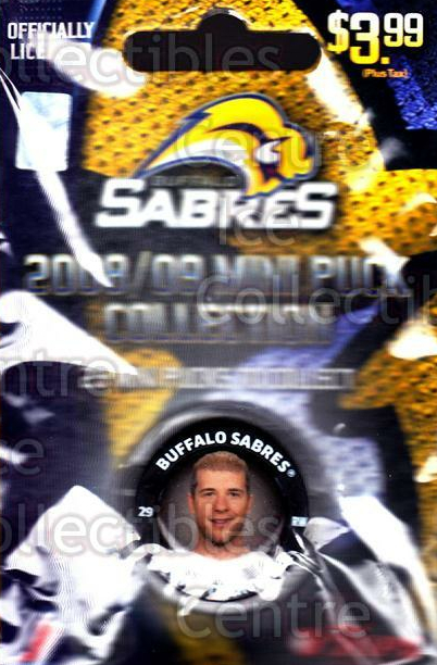2008-09 Buffalo Sabres Mini Pucks #16 Jason Pominville<br/>3 In Stock - $5.00 each - <a href=https://centericecollectibles.foxycart.com/cart?name=2008-09%20Buffalo%20Sabres%20Mini%20Pucks%20%2316%20Jason%20Pominvill...&quantity_max=3&price=$5.00&code=492903 class=foxycart> Buy it now! </a>
