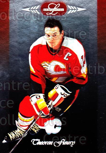 1996-97 Leaf Limited #67 Theo Fleury<br/>10 In Stock - $1.00 each - <a href=https://centericecollectibles.foxycart.com/cart?name=1996-97%20Leaf%20Limited%20%2367%20Theo%20Fleury...&quantity_max=10&price=$1.00&code=49349 class=foxycart> Buy it now! </a>