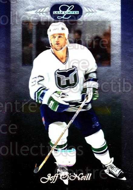1996-97 Leaf Limited #68 Jeff O'Neill<br/>10 In Stock - $1.00 each - <a href=https://centericecollectibles.foxycart.com/cart?name=1996-97%20Leaf%20Limited%20%2368%20Jeff%20O'Neill...&quantity_max=10&price=$1.00&code=49350 class=foxycart> Buy it now! </a>