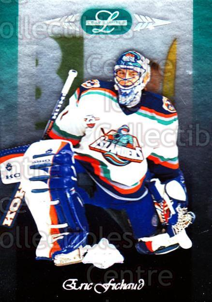 1996-97 Leaf Limited #69 Eric Fichaud<br/>10 In Stock - $1.00 each - <a href=https://centericecollectibles.foxycart.com/cart?name=1996-97%20Leaf%20Limited%20%2369%20Eric%20Fichaud...&price=$1.00&code=49351 class=foxycart> Buy it now! </a>
