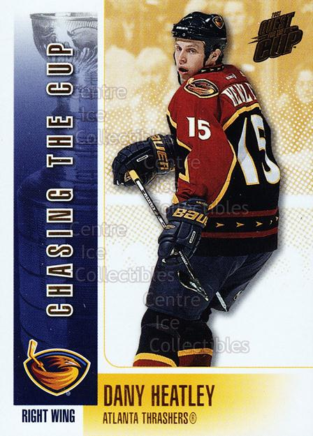 2002-03 Quest For the Cup Chasing the Cup #2 Dany Heatley<br/>5 In Stock - $2.00 each - <a href=https://centericecollectibles.foxycart.com/cart?name=2002-03%20Quest%20For%20the%20Cup%20Chasing%20the%20Cup%20%232%20Dany%20Heatley...&quantity_max=5&price=$2.00&code=494016 class=foxycart> Buy it now! </a>
