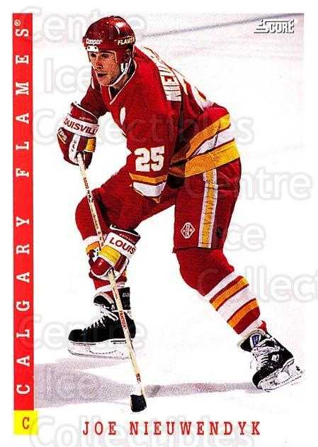 1993-94 Score Canadian #199 Joe Nieuwendyk<br/>4 In Stock - $1.00 each - <a href=https://centericecollectibles.foxycart.com/cart?name=1993-94%20Score%20Canadian%20%23199%20Joe%20Nieuwendyk...&quantity_max=4&price=$1.00&code=4942 class=foxycart> Buy it now! </a>