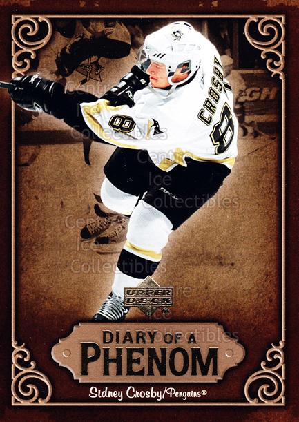 2005-06 Upper Deck Diary of a Phenom Sidney Crosby #2 Sidney Crosby<br/>8 In Stock - $3.00 each - <a href=https://centericecollectibles.foxycart.com/cart?name=2005-06%20Upper%20Deck%20Diary%20of%20a%20Phenom%20Sidney%20Crosby%20%232%20Sidney%20Crosby...&quantity_max=8&price=$3.00&code=494373 class=foxycart> Buy it now! </a>