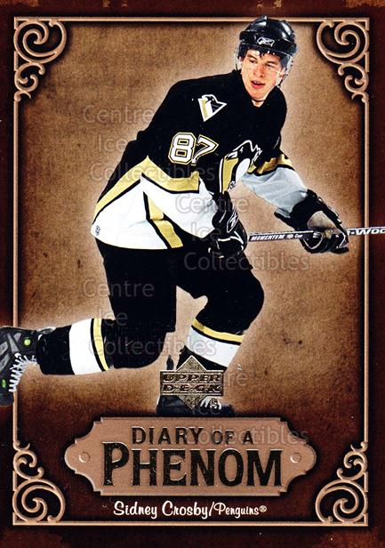 2005-06 Upper Deck Diary of a Phenom Sidney Crosby #4 Sidney Crosby<br/>13 In Stock - $3.00 each - <a href=https://centericecollectibles.foxycart.com/cart?name=2005-06%20Upper%20Deck%20Diary%20of%20a%20Phenom%20Sidney%20Crosby%20%234%20Sidney%20Crosby...&quantity_max=13&price=$3.00&code=494375 class=foxycart> Buy it now! </a>