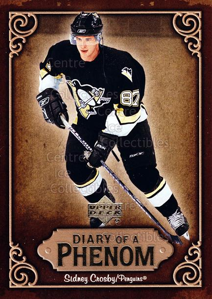 2005-06 Upper Deck Diary of a Phenom Sidney Crosby #5 Sidney Crosby<br/>13 In Stock - $3.00 each - <a href=https://centericecollectibles.foxycart.com/cart?name=2005-06%20Upper%20Deck%20Diary%20of%20a%20Phenom%20Sidney%20Crosby%20%235%20Sidney%20Crosby...&quantity_max=13&price=$3.00&code=494376 class=foxycart> Buy it now! </a>