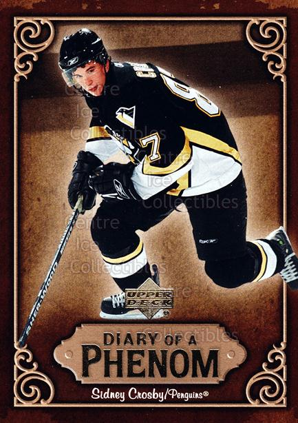 2005-06 Upper Deck Diary of a Phenom Sidney Crosby #8 Sidney Crosby<br/>15 In Stock - $3.00 each - <a href=https://centericecollectibles.foxycart.com/cart?name=2005-06%20Upper%20Deck%20Diary%20of%20a%20Phenom%20Sidney%20Crosby%20%238%20Sidney%20Crosby...&quantity_max=15&price=$3.00&code=494379 class=foxycart> Buy it now! </a>