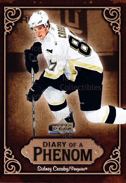 2005-06 Upper Deck Diary of a Phenom Sidney Crosby #14 Sidney Crosby<br/>12 In Stock - $3.00 each - <a href=https://centericecollectibles.foxycart.com/cart?name=2005-06%20Upper%20Deck%20Diary%20of%20a%20Phenom%20Sidney%20Crosby%20%2314%20Sidney%20Crosby...&quantity_max=12&price=$3.00&code=494385 class=foxycart> Buy it now! </a>