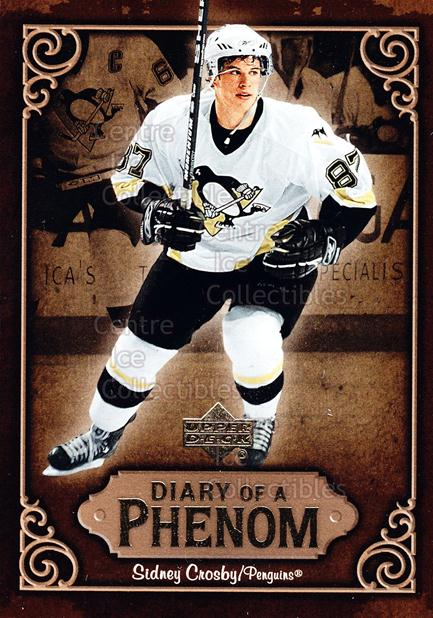 2005-06 Upper Deck Diary of a Phenom Sidney Crosby #16 Sidney Crosby<br/>11 In Stock - $3.00 each - <a href=https://centericecollectibles.foxycart.com/cart?name=2005-06%20Upper%20Deck%20Diary%20of%20a%20Phenom%20Sidney%20Crosby%20%2316%20Sidney%20Crosby...&quantity_max=11&price=$3.00&code=494387 class=foxycart> Buy it now! </a>