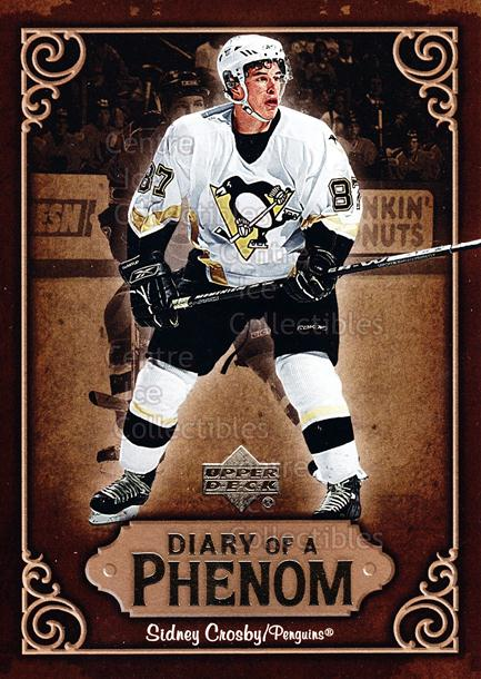 2005-06 Upper Deck Diary of a Phenom Sidney Crosby #17 Sidney Crosby<br/>13 In Stock - $3.00 each - <a href=https://centericecollectibles.foxycart.com/cart?name=2005-06%20Upper%20Deck%20Diary%20of%20a%20Phenom%20Sidney%20Crosby%20%2317%20Sidney%20Crosby...&quantity_max=13&price=$3.00&code=494388 class=foxycart> Buy it now! </a>