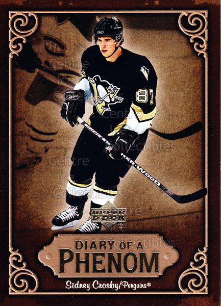 2005-06 Upper Deck Diary of a Phenom Sidney Crosby #19 Sidney Crosby<br/>13 In Stock - $3.00 each - <a href=https://centericecollectibles.foxycart.com/cart?name=2005-06%20Upper%20Deck%20Diary%20of%20a%20Phenom%20Sidney%20Crosby%20%2319%20Sidney%20Crosby...&quantity_max=13&price=$3.00&code=494390 class=foxycart> Buy it now! </a>