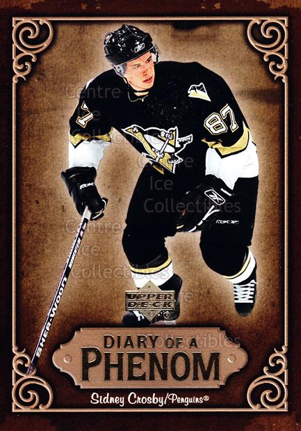 2005-06 Upper Deck Diary of a Phenom Sidney Crosby #21 Sidney Crosby<br/>12 In Stock - $3.00 each - <a href=https://centericecollectibles.foxycart.com/cart?name=2005-06%20Upper%20Deck%20Diary%20of%20a%20Phenom%20Sidney%20Crosby%20%2321%20Sidney%20Crosby...&quantity_max=12&price=$3.00&code=494392 class=foxycart> Buy it now! </a>
