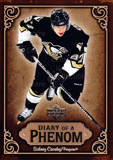 2005-06 Upper Deck Diary of a Phenom Sidney Crosby #24 Sidney Crosby<br/>15 In Stock - $3.00 each - <a href=https://centericecollectibles.foxycart.com/cart?name=2005-06%20Upper%20Deck%20Diary%20of%20a%20Phenom%20Sidney%20Crosby%20%2324%20Sidney%20Crosby...&quantity_max=15&price=$3.00&code=494395 class=foxycart> Buy it now! </a>