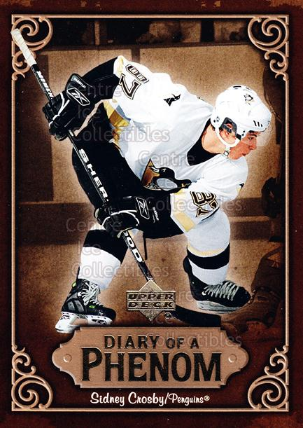 2005-06 Upper Deck Diary of a Phenom Sidney Crosby #26 Sidney Crosby<br/>9 In Stock - $3.00 each - <a href=https://centericecollectibles.foxycart.com/cart?name=2005-06%20Upper%20Deck%20Diary%20of%20a%20Phenom%20Sidney%20Crosby%20%2326%20Sidney%20Crosby...&quantity_max=9&price=$3.00&code=494397 class=foxycart> Buy it now! </a>