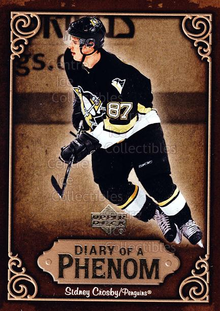 2005-06 Upper Deck Diary of a Phenom Sidney Crosby #28 Sidney Crosby<br/>20 In Stock - $3.00 each - <a href=https://centericecollectibles.foxycart.com/cart?name=2005-06%20Upper%20Deck%20Diary%20of%20a%20Phenom%20Sidney%20Crosby%20%2328%20Sidney%20Crosby...&quantity_max=20&price=$3.00&code=494399 class=foxycart> Buy it now! </a>
