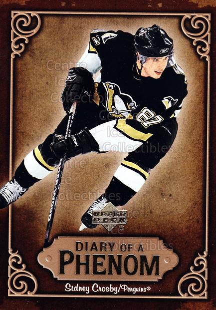 2005-06 Upper Deck Diary of a Phenom Sidney Crosby #30 Sidney Crosby<br/>7 In Stock - $3.00 each - <a href=https://centericecollectibles.foxycart.com/cart?name=2005-06%20Upper%20Deck%20Diary%20of%20a%20Phenom%20Sidney%20Crosby%20%2330%20Sidney%20Crosby...&quantity_max=7&price=$3.00&code=494401 class=foxycart> Buy it now! </a>