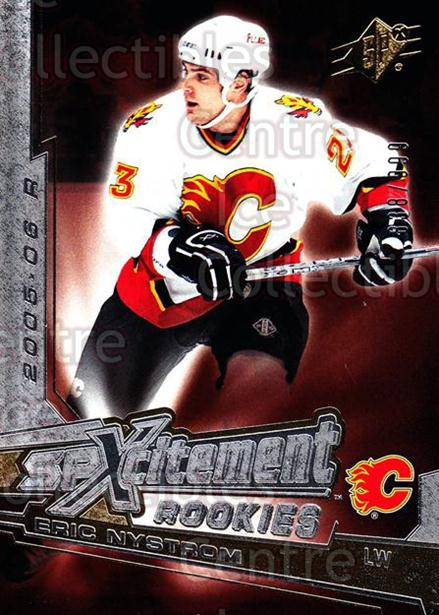 2005-06 SPx Xcitement Rookies #XREN Eric Nystrom<br/>4 In Stock - $3.00 each - <a href=https://centericecollectibles.foxycart.com/cart?name=2005-06%20SPx%20Xcitement%20Rookies%20%23XREN%20Eric%20Nystrom...&quantity_max=4&price=$3.00&code=494618 class=foxycart> Buy it now! </a>