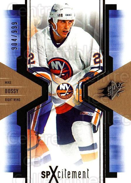 2006-07 SPx SPxcitement #63 Mike Bossy<br/>1 In Stock - $3.00 each - <a href=https://centericecollectibles.foxycart.com/cart?name=2006-07%20SPx%20SPxcitement%20%2363%20Mike%20Bossy...&price=$3.00&code=494756 class=foxycart> Buy it now! </a>