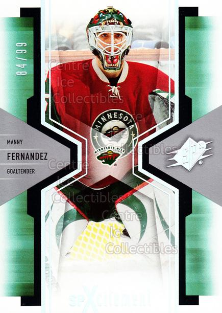 2006-07 SPx SPxcitement Spectrum #51 Manny Fernandez<br/>1 In Stock - $5.00 each - <a href=https://centericecollectibles.foxycart.com/cart?name=2006-07%20SPx%20SPxcitement%20Spectrum%20%2351%20Manny%20Fernandez...&quantity_max=1&price=$5.00&code=494773 class=foxycart> Buy it now! </a>