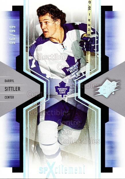 2006-07 SPx SPxcitement Spectrum #92 Darryl Sittler<br/>1 In Stock - $5.00 each - <a href=https://centericecollectibles.foxycart.com/cart?name=2006-07%20SPx%20SPxcitement%20Spectrum%20%2392%20Darryl%20Sittler...&quantity_max=1&price=$5.00&code=494798 class=foxycart> Buy it now! </a>
