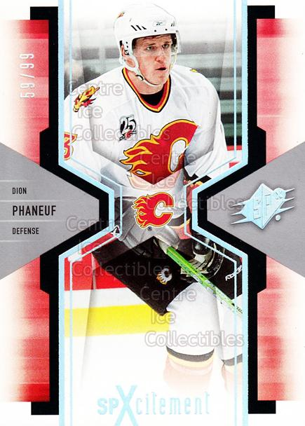 2006-07 SPx SPxcitement Spectrum #18 Dion Phaneuf<br/>1 In Stock - $5.00 each - <a href=https://centericecollectibles.foxycart.com/cart?name=2006-07%20SPx%20SPxcitement%20Spectrum%20%2318%20Dion%20Phaneuf...&price=$5.00&code=494809 class=foxycart> Buy it now! </a>