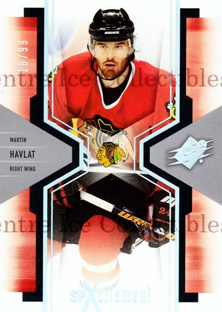 2006-07 SPx SPxcitement Spectrum #20 Martin Havlat<br/>2 In Stock - $5.00 each - <a href=https://centericecollectibles.foxycart.com/cart?name=2006-07%20SPx%20SPxcitement%20Spectrum%20%2320%20Martin%20Havlat...&quantity_max=2&price=$5.00&code=494810 class=foxycart> Buy it now! </a>