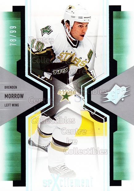 2006-07 SPx SPxcitement Spectrum #32 Brenden Morrow<br/>2 In Stock - $5.00 each - <a href=https://centericecollectibles.foxycart.com/cart?name=2006-07%20SPx%20SPxcitement%20Spectrum%20%2332%20Brenden%20Morrow...&quantity_max=2&price=$5.00&code=494817 class=foxycart> Buy it now! </a>