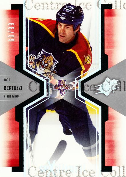 2006-07 SPx SPxcitement Spectrum #45 Todd Bertuzzi<br/>1 In Stock - $5.00 each - <a href=https://centericecollectibles.foxycart.com/cart?name=2006-07%20SPx%20SPxcitement%20Spectrum%20%2345%20Todd%20Bertuzzi...&quantity_max=1&price=$5.00&code=494827 class=foxycart> Buy it now! </a>