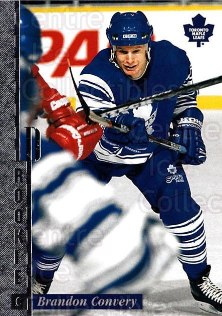 1996-97 Leaf Preferred #132 Brandon Convery<br/>4 In Stock - $1.00 each - <a href=https://centericecollectibles.foxycart.com/cart?name=1996-97%20Leaf%20Preferred%20%23132%20Brandon%20Convery...&quantity_max=4&price=$1.00&code=49496 class=foxycart> Buy it now! </a>